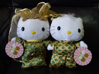 趣緻 泰式hello kitty新郎新娘