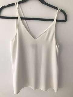 TOPSHOP Strappy Cami (Size 8)