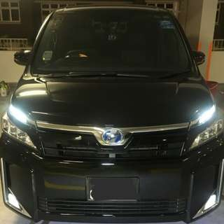 Car wash / snow wash / chemical guys / toyota voxy / professional auto detailling
