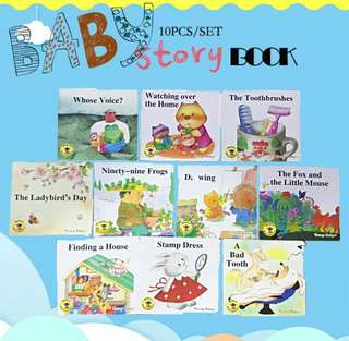 10pcs Baby story Books set