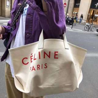Celine* large tote bag