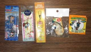 New Japanese Character keychain 150each