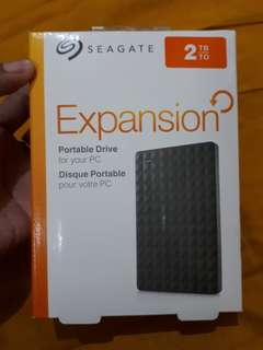 HDD Seagate Expansion 2TB (NEW)