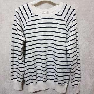 Bershka stripes pullover