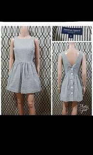 American Apparel stripes dress
