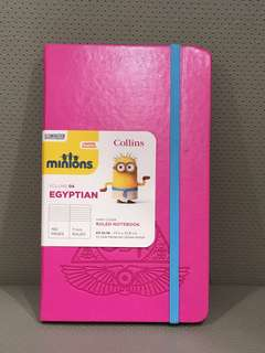 BNIB Minions Limited Edition Hard Cover Notebook