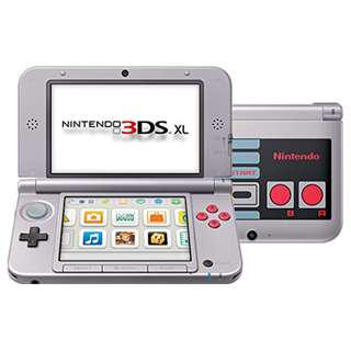 3DS XL Retro NES Edition System Limited Edition ~ Nintendo