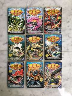 Sea Quest books