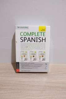 Belajar bahasa spanyol Complete Spanish kesaint Blanc