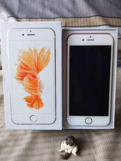 🚚 IPhone 6s 64g 玫瑰金 ( ios 11.2.6 )