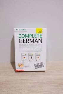 Belajar bahasa jerman Complete German Kesaint Blanc