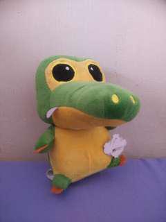 Baby crocodile plush