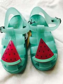 Cotton On Kids watermelon rubber sandals