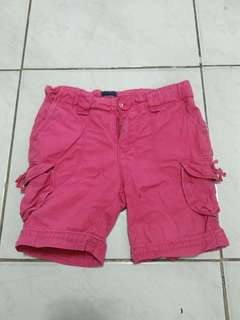 Baby Gap pink short