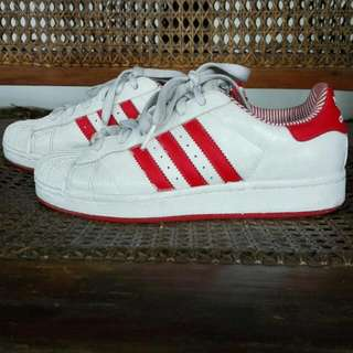 Authentic Adidas All Stars Red And White