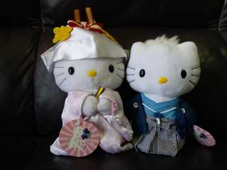 傳統 日式hello kitty新郎新娘