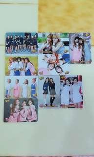Twice專輯卡set