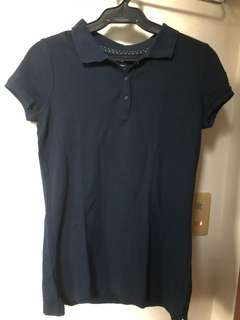 Old Navy Navy Blue Polo