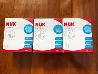 NUK Oral Wipes free normal mail