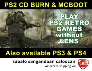 Ps2 Cd Burn and Mcboot