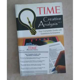 TIME Creative Analysis Vol. 2 #Blessing