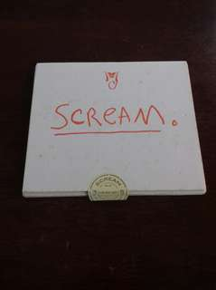 Michael Jackson Scream UK Promo CD single very rare with Exclusive Paper Housing History