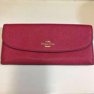 Coach thin wallet