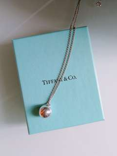 Tiffany & Co. Ball necklace  頸鏈 , with receipt