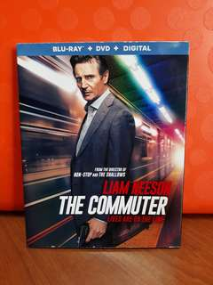 USA Blu Ray Slipcase - Commuter