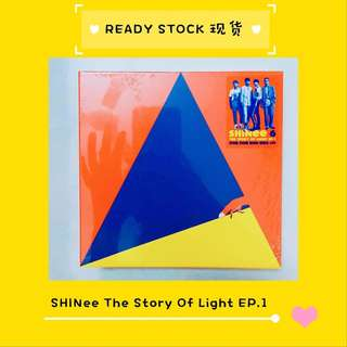 [READY STOCK] SHINEE 샤이니 - 6집 ['THE STORY OF LIGHT' EP.1] (SEALED)