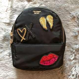 Victoria's Secret Runway Patch Mini Backpack