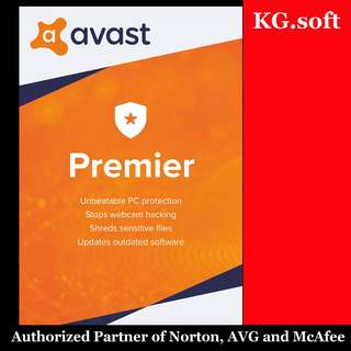 🔥AVAST Premier 2018 for 1PC or 3PCs 1-year - Genuine product license key🔥