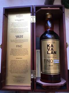 Kavalan Fino Solist single malt whisky 噶瑪蘭台灣威士忌