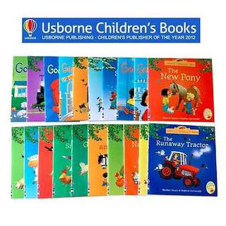 20 Books Set Usborne Farmyard Tales Story Books