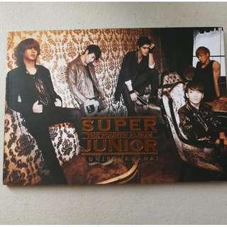 Super Junior- The Fourth Album (Bonamana)