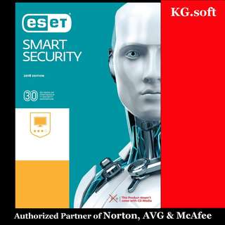 🔥ESET Smart Security 2018 - Genuine License Key🔥