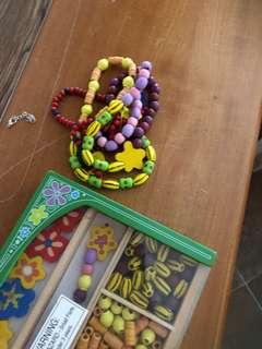 🚚 木製串珠