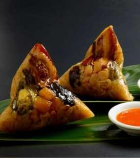 鮑魚粽(特式) 原隻 鮑魚干貝海鮮粽 糭 (精品)