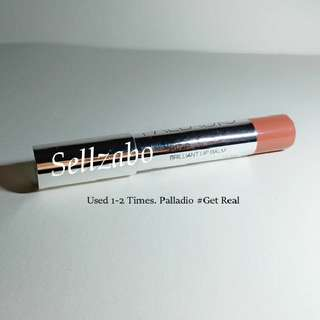 New : Lip Balm : Get Real : Palladio : Nude : Pop Shine : Brilliant Lips : Stains : Cosmetics : Makeup : Beauty : Colour : Natural : Tone : Sellzabo