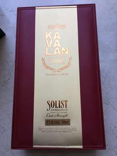 噶瑪蘭 Kavalan Sherry Cask Solist Single Malt Whisky 台灣威士忌