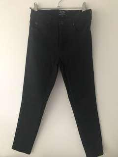 BARDOT Black Denim Jeans (Size 8)