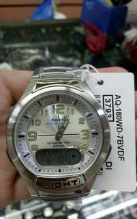 Orig Casio AQ Series Watch Stainless Steel