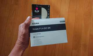 Sigma 16mm F1.4 DC DN Contemporary (For Sony)