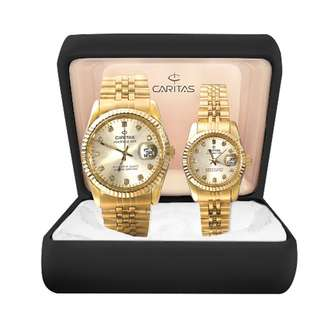 Authentic Caritas Couple Watch
