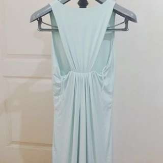 Mint Dress Renowned designer Pia Gladys Perey