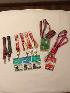 F1 Singapore Lanyards & Tickets