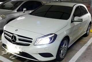2014年Benz a180 跑7萬