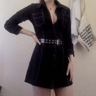 Vintage Black Dangerfield Dress 90s