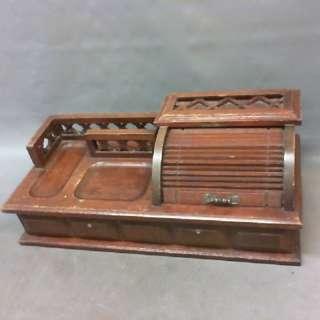 老件/木製桌上型珠寶盒