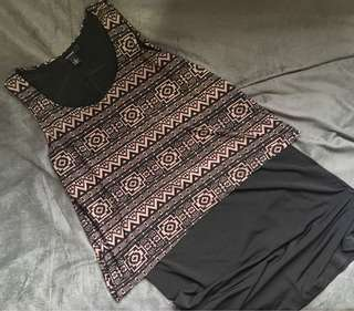 Aztec prints Dress
